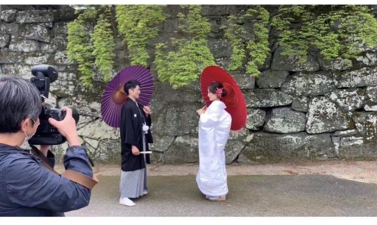 徳島城公園 和装