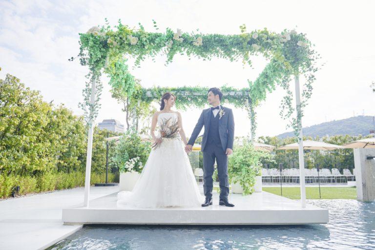 パークウエストン 新郎新婦 結婚式